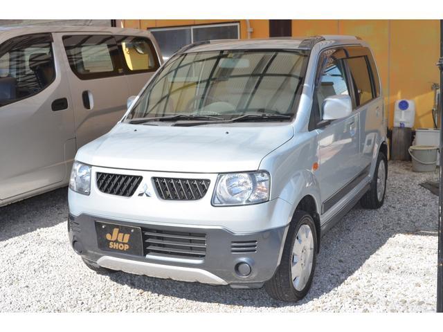 三菱 V 4WD キーレス CDオーディオ 車検整備付き AT