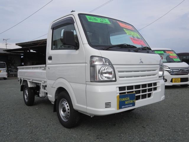 三菱 ミニキャブトラック M 4WD 5速ミッション 運転席・助手席エアバック
