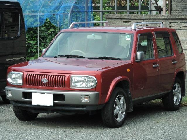 日産 タイプII キーレス CD 4WD アルミホイール