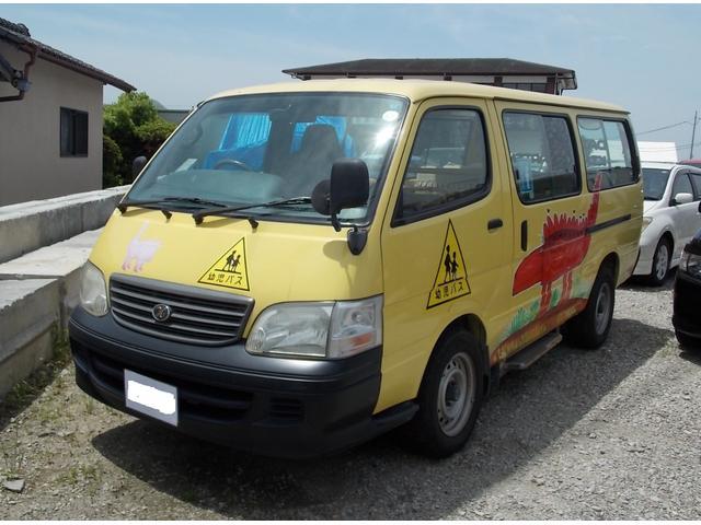 トヨタ デラックス ロング ディーゼルターボ 幼児バス