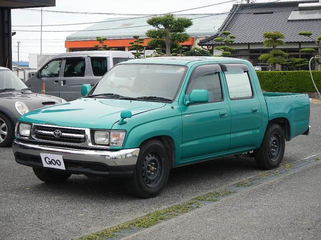 トヨタ Wキャブ サンルーフ 地デジナビ HID ETC