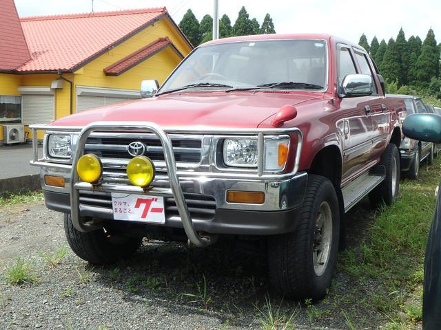 トヨタ ダブルキャブ 5速MT ディーゼル 4WD サンルーフ