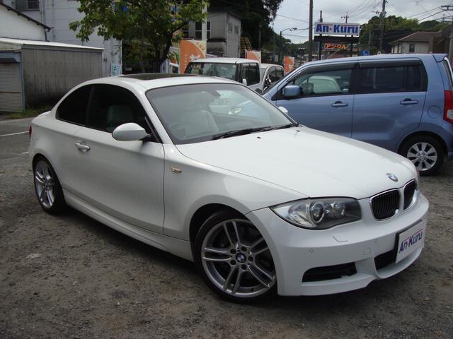 BMW 135i サンルーフ 革シート
