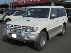 パジェロワイド エクシード 4WD サンルーフ 純正アルミ