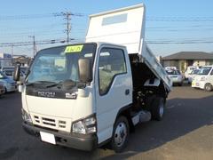 エルフトラック2.0t 4WD 低床ダンプ 5速ミッション