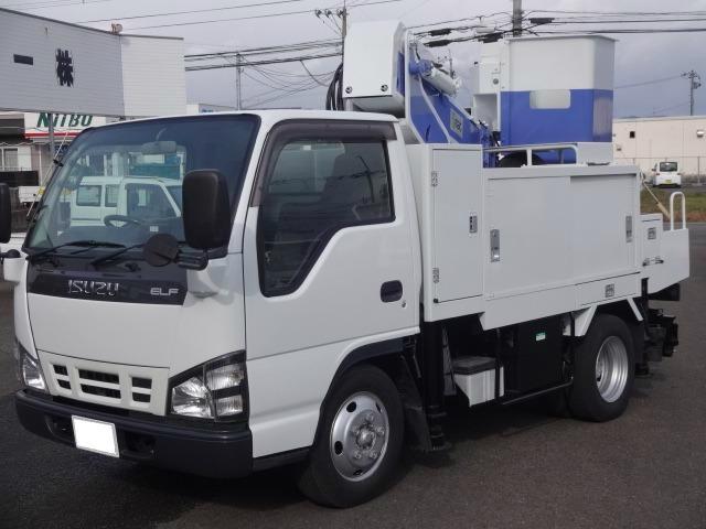 いすゞ 高所作業車 グー鑑定車 5速マニュアル車 バックモニター
