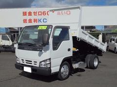 エルフトラック2.0t低床ダンプ 4WD ディーゼル