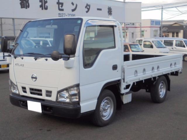 日産 1.45t グー鑑定車 高床平ボディ 5速マニュアル
