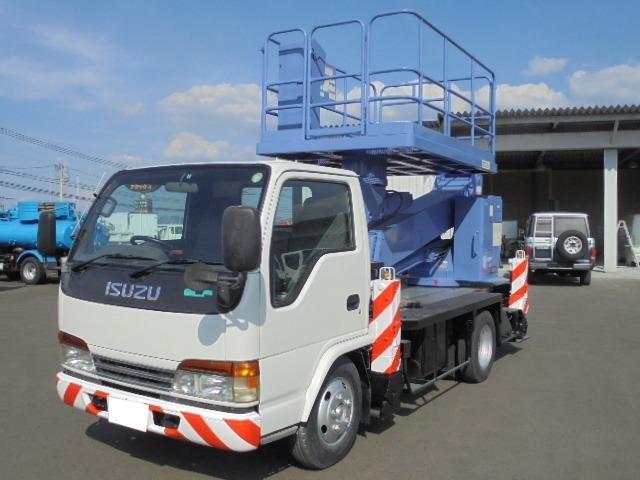 いすゞ 道路作業車 普通特種8ナンバー ディーゼル車