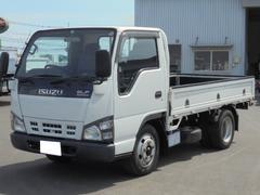 エルフトラック2.0t 低床平ボディ 5速スムーサー ETC