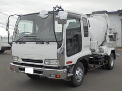 フォワード3.75t ミキサー車 5速マニュアル車 ETC
