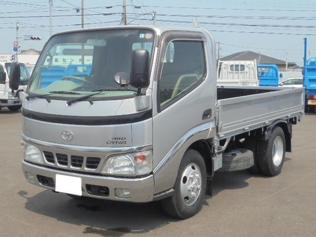 トヨタ ダイナトラック 2.0t 平ボディ 4WD 5速マニュアル車 車検整備付き