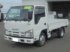 エルフトラック1.5t ディーゼル 低床4WD 5速ミッション3ペダル