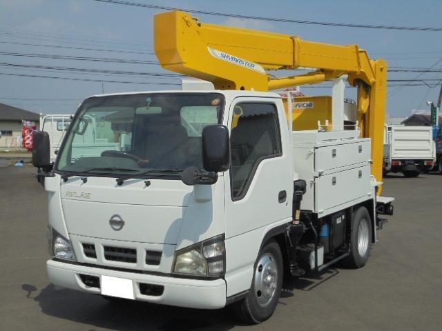 日産 9.9M高所作業車 5速ミッション ディーゼル ABS
