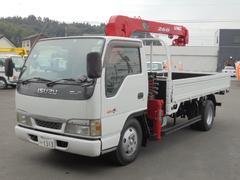 エルフトラック2.0t 3段クレーン 最大つり上げ荷重2.63t ETC