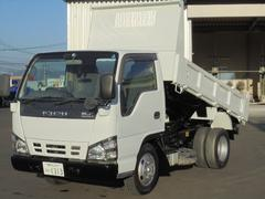 エルフトラック3.0t 低床ダンプ ディーゼル 5速マニュアル車
