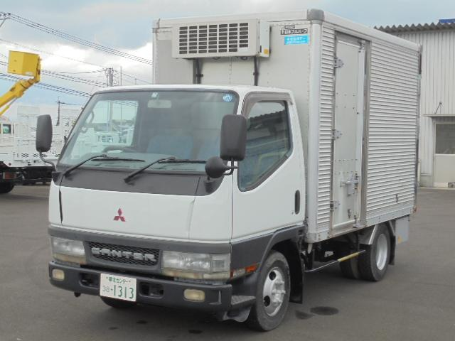 三菱ふそう 1.5t 冷蔵冷凍車 マイナス7度から35度 5速MT