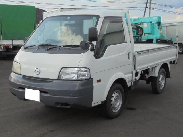 マツダ ボンゴトラック  切り替え式4WD 5速マニュアル車 シングルタイヤ パワステ 社外ナビ ETC 荷台プロテクター