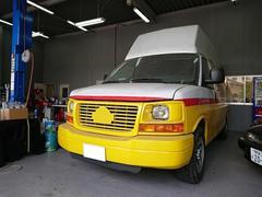 GMC サバナカーゴ リビルトAT載せ替え ハイルーフ 移動販売車