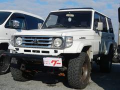 ランドクルーザー70ZX リフトUP 16MTタイヤ・AW サンルーフ