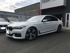 BMW750i Mスポーツ リモートパーキング レーザーライト