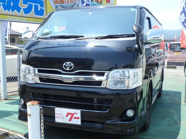 トヨタ スーパーGL ナビ ETC エアロ