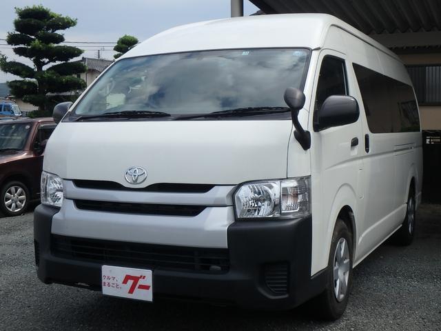 トヨタ ハイエースコミューター GL 10人乗り 3ナンバー ナビTV