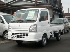 キャリイトラックKCエアコン・パワステ 4WD 三方開