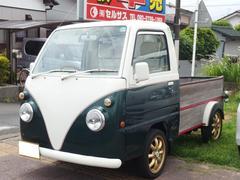 サンバートラックカスタムトラック エアコン 本革調シートカバー 4WD