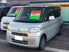 タントX 左側電動スライドドア 社外アルミホイール 車検令和3年11月 スマートキー ベンチシート CDオーディオ