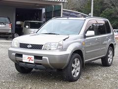 エクストレイルX 4WD サンルーフ キセノンライト