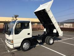 エルフトラック全低床ダンプ 4WD 強化ボディ ディーゼル車 5速MT