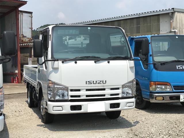 いすゞ エルフトラック  ジャストロー NOx・PM適合車 低床 最大積載量1500kg メモリーナビ地デジ ETC 5速ミッション