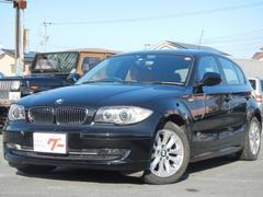 BMW116i OP赤革シート 社外HDDナビ フルセグTV