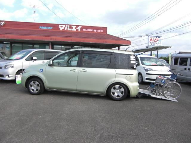 トヨタ X 車いす仕様車 タイプI スローパー ナビ・テレビ福祉車両