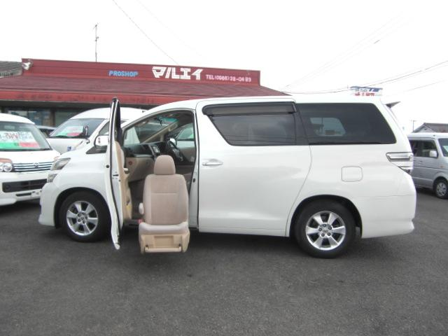 トヨタ 2.4X 助手席リフトUPシート ナビTV両Pスラ 福祉車両
