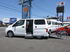 NV200バネットワゴンチェアキャブ 車いす1名仕様 専用サードシート有 福祉車両