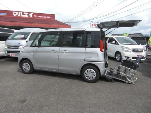 スズキ X 車いす移動車 左Pスラ アイドルストップSキー 福祉車両