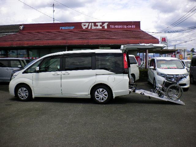 ホンダ G 車いす仕様車 3列目乗車タイプ ウインチ 福祉車両