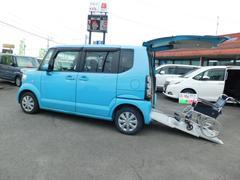 N−BOX+スローパー ウインチ CD Pスタート スマートキー福祉車両