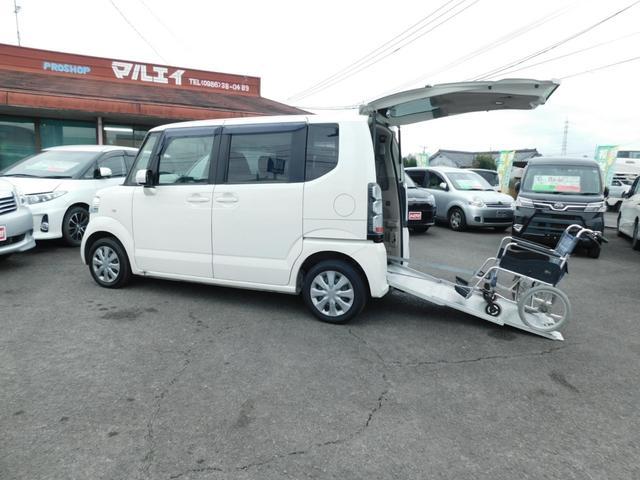 ホンダ N-BOX+ G 車いす仕様車 ウインチ CD キーレス 福祉車輌