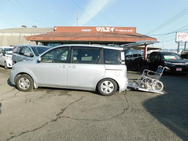 トヨタ X 車いす仕様車 タイプI スローパー 電動固定装置 簡易ウインチ CD キーレス 福祉車輌