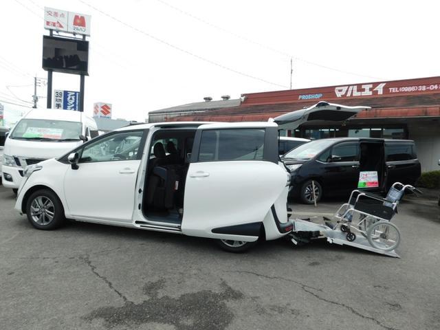 トヨタ G 車いす仕様車 スローパー トヨタセーフティセンス ナビテレビ Bカメラ 両Pスラ Pスタート スマートキー 純正アルミ 福祉車輌