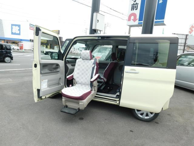 ダイハツ L SAII ウェルカムシート 助手席スライドアップシート エコアイドル CD キーレス福祉車輌