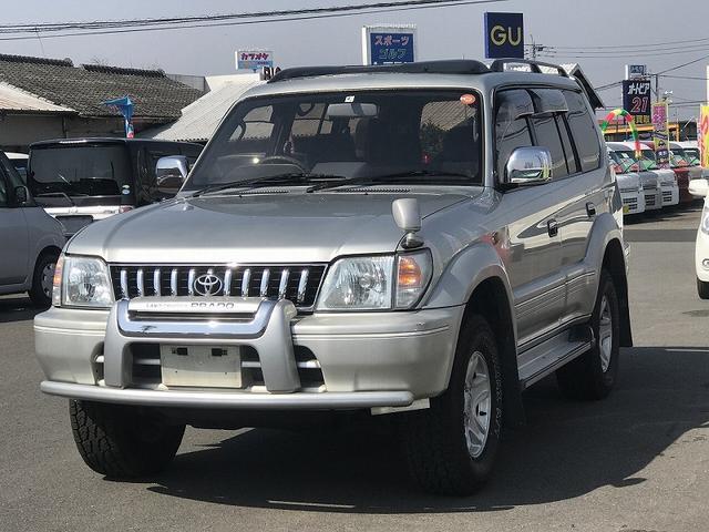 トヨタ TX LTD 4WD サンルーフ 純正アルミ