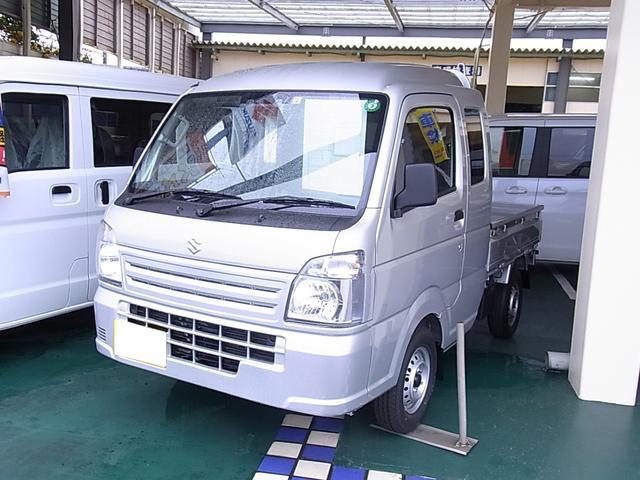 スズキ スーパーキャリイ L 4WD 届出済未使用車 デュアルカメラブレーキサポート