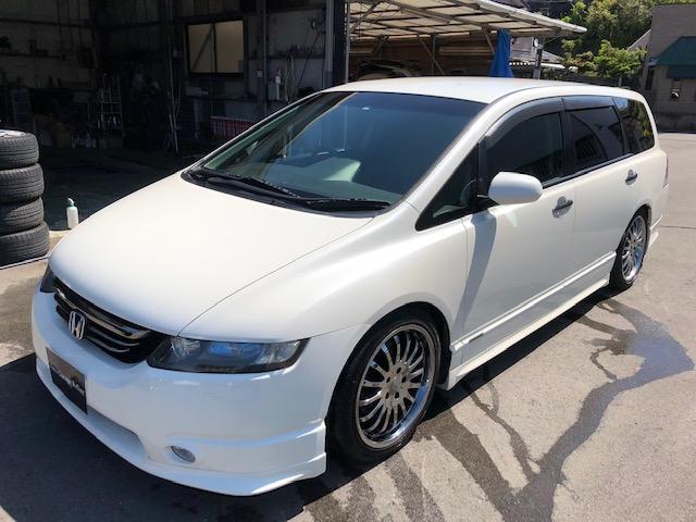 ホンダ アブソルート HDDナビ・ETC・TEIN車高調・18インチ
