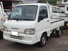 サンバートラックTB 4WD 5速マニュアル車 エアコン パワステ 三方開