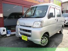 ハイゼットカーゴデッキバン 5速マニュアル車 ナビ TV CD