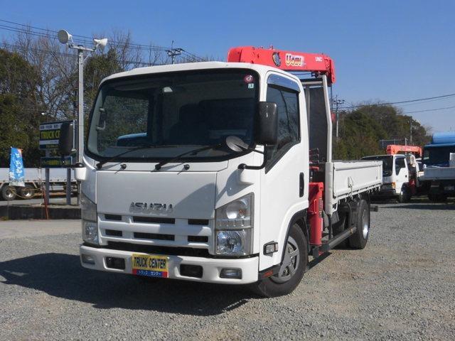 いすゞ エルフトラック ロング 2.75トン標準 古河4段ラジコン ETC